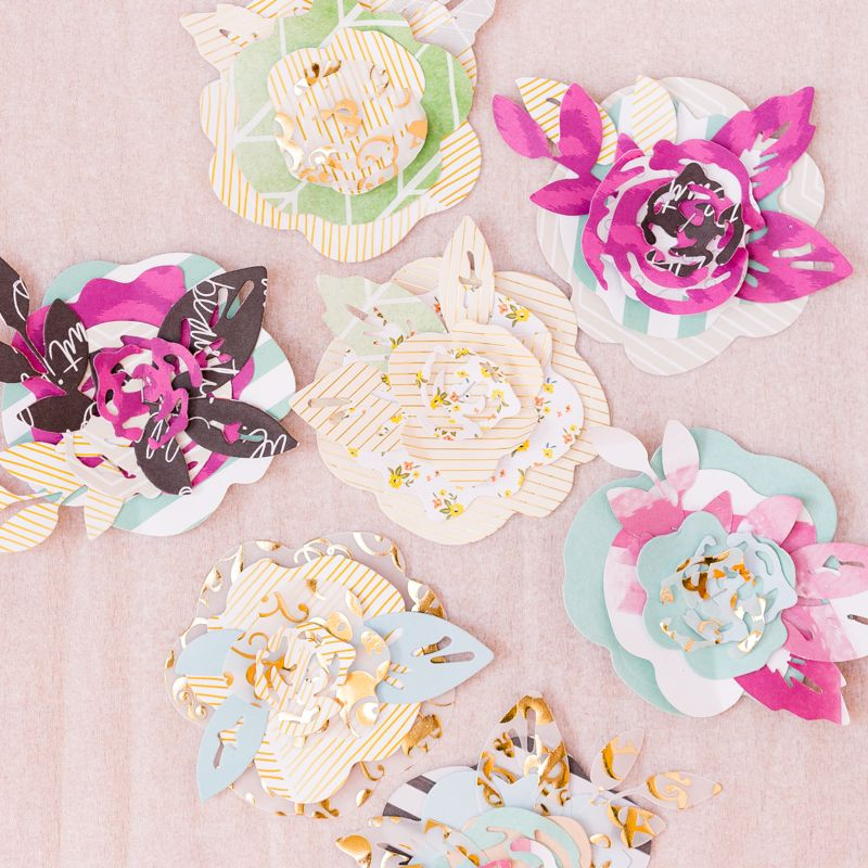 Flowers with maggie holmes crate paper flower die cut set confetti flowers with maggie holmes crate paper flower die cut set confetti mightylinksfo