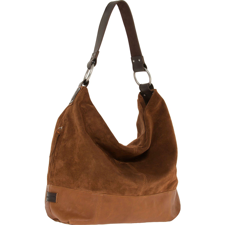Ellington Handbags Sadie Suede Hobo - eBags.com
