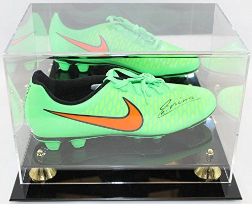9365a20fc3a Andres Iniesta Autographed Nike Cleat PSA DNA COA in Display Case ...