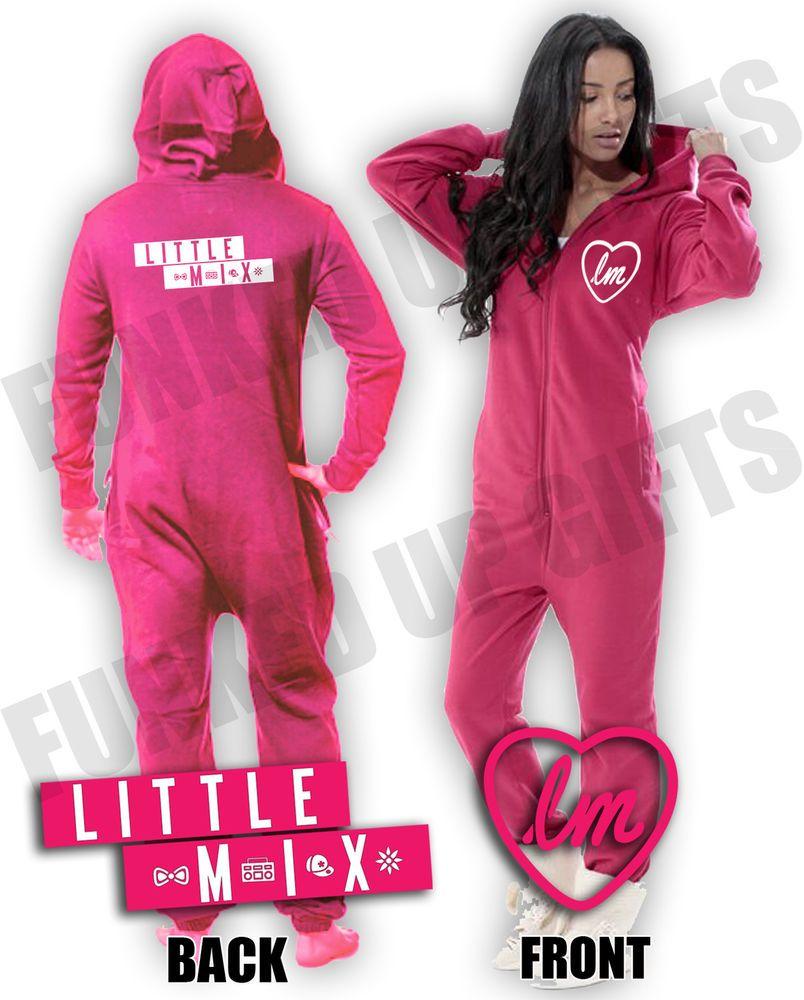LM, Little Mix Onesie, Jumpsuit, Pyjamas, Loungers, Nightwear, All in One   eBay