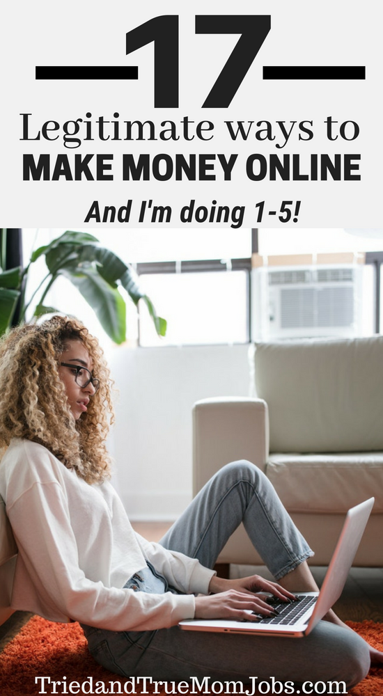 17 Legitimate Online Jobs from Home with little to No Investment. Check out  these ways 952e1a3c71a