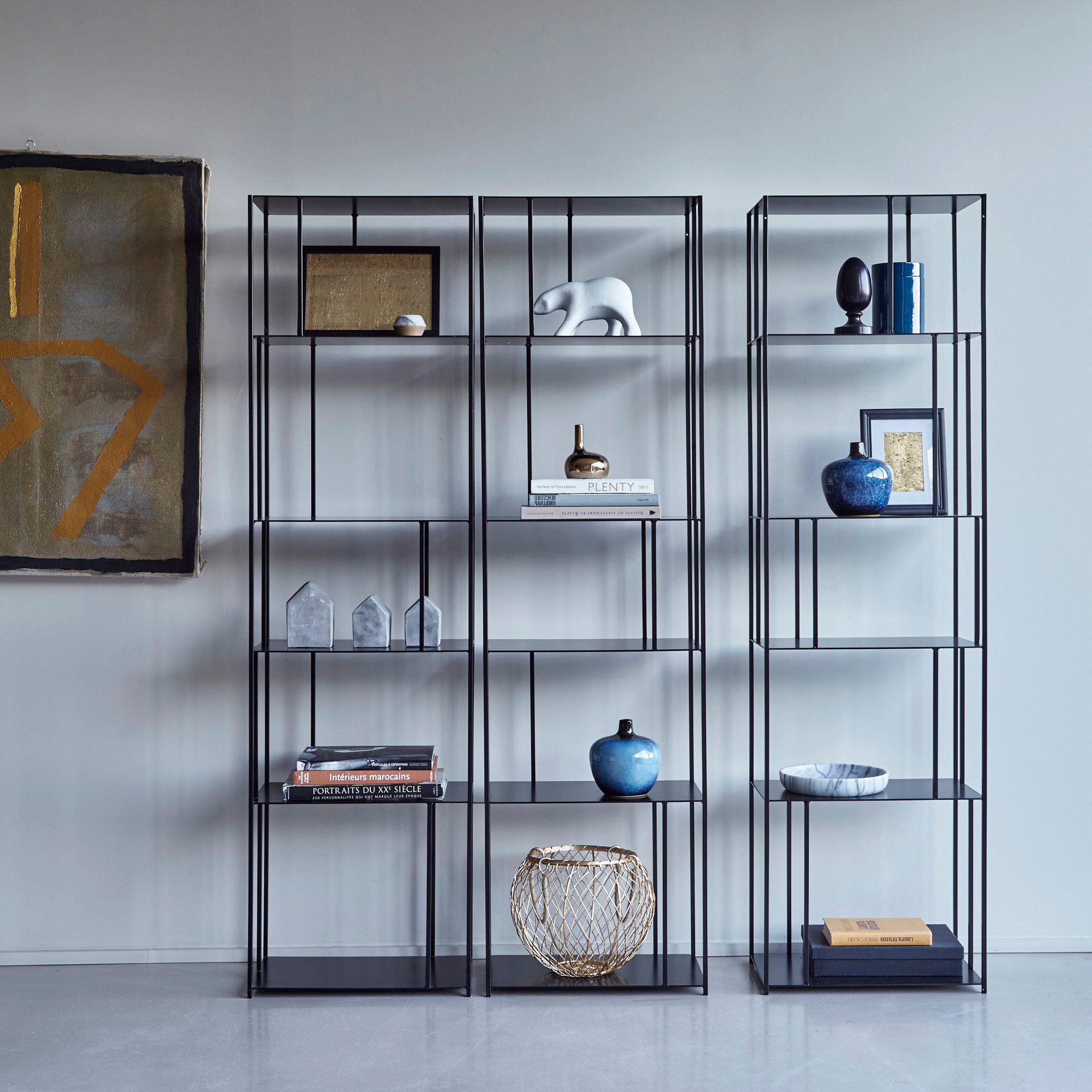 Parallel Metal Bookcase Metal Bookcase Shelves Shelving