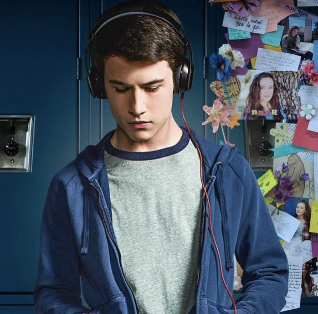 Dylan Minnette As Clay Jensen In 13 Reasons Why 13 Reasons Why