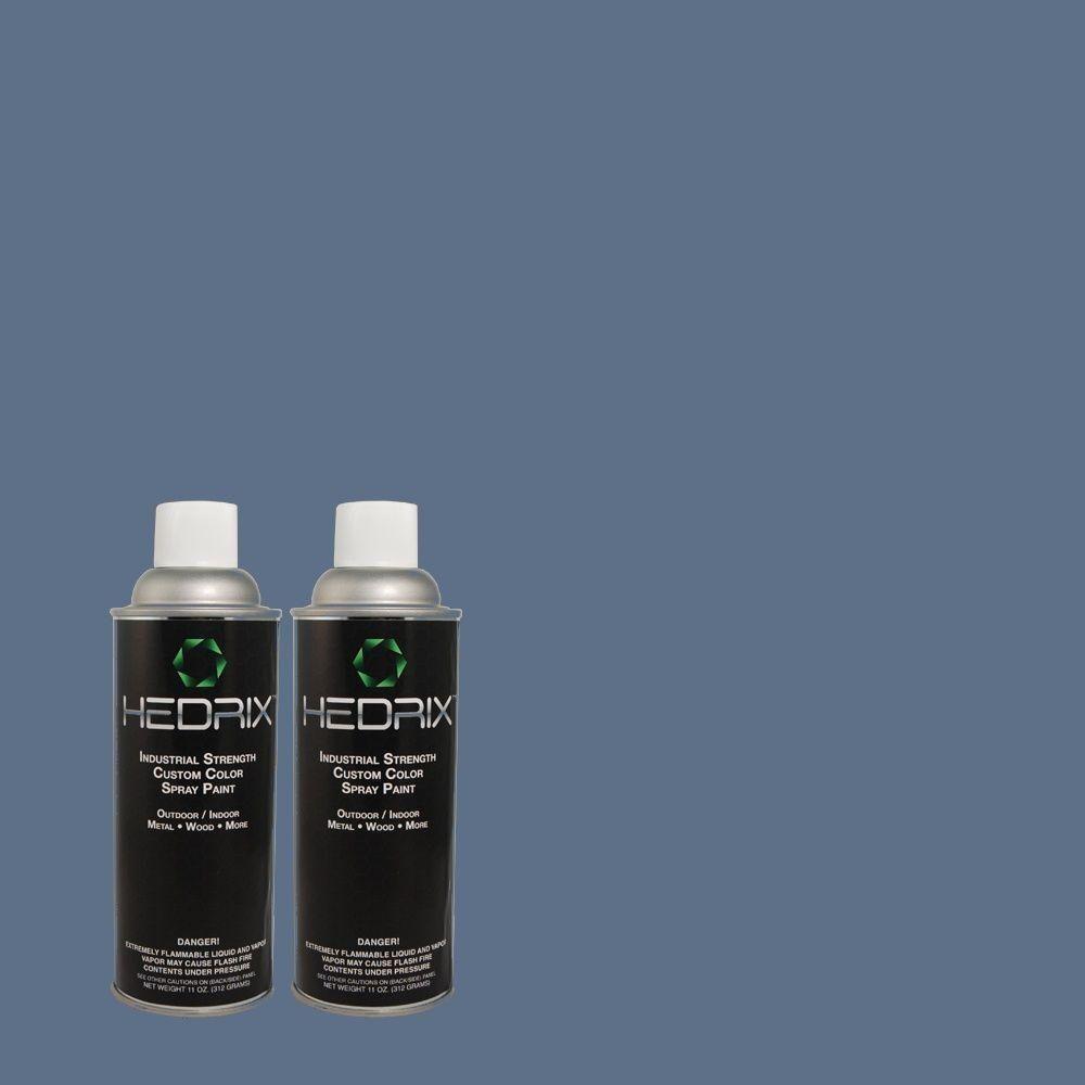 Hedrix 11 Oz Match Of 590d 6 Wickford Bay Color Spray Spray Metallic Spray Paint