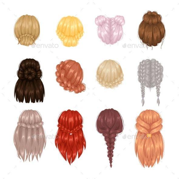 17 Top Notch Women Hairstyles Ponytail Ideas Hairstyles Ideas Notch Ponytail Women Hairstyledrawing Hair Illustration Hair Vector Hair Sketch