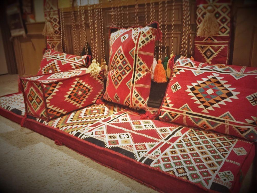 Arabesque arabic seating foam filled hookah lounge - Living room hookah lounge la jolla ...