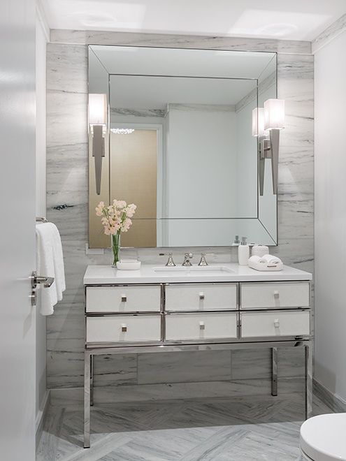 45 Luxurious Powder Room Decorating Ideas Luxury Powder Room