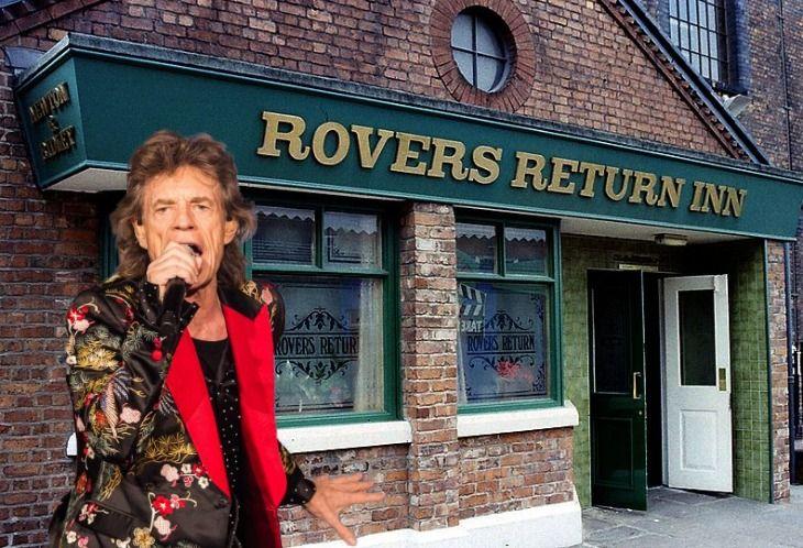 Coronation Street Fan Mick Jagger Would Love A Cameo Role