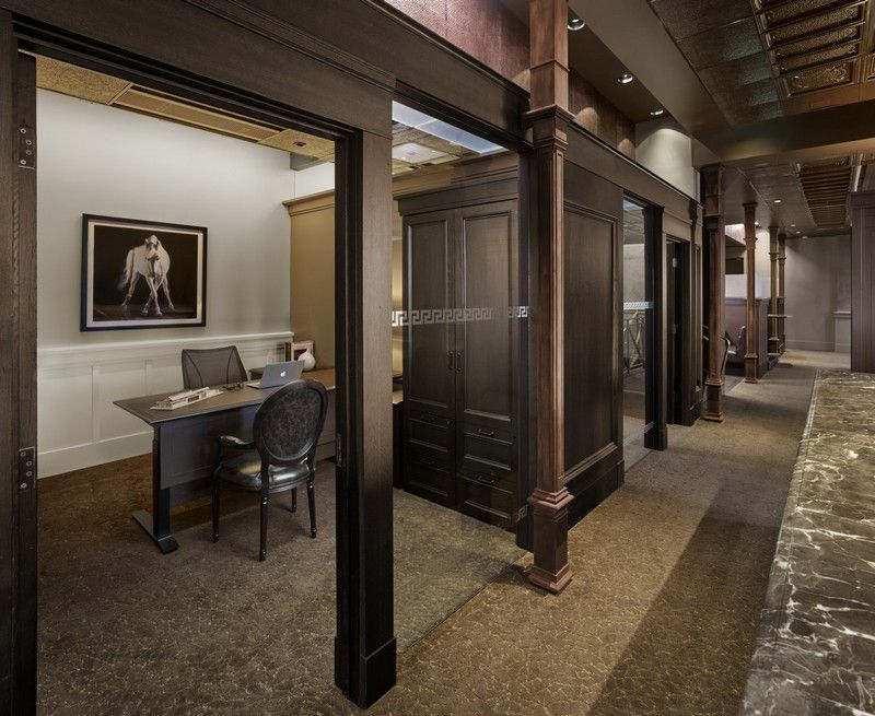 Historic Bank Building Converted Into Modern Office Space Modern Office Space Banks Building Office Space