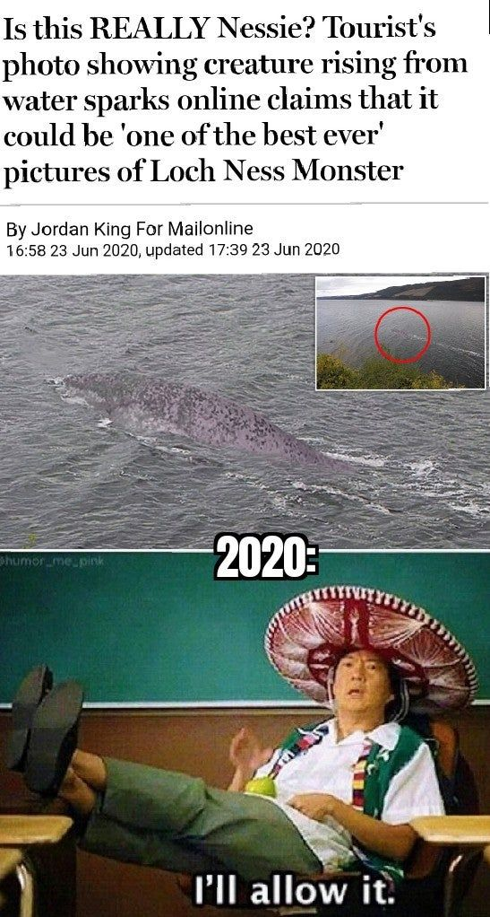 Sure 2020...why the hell not?