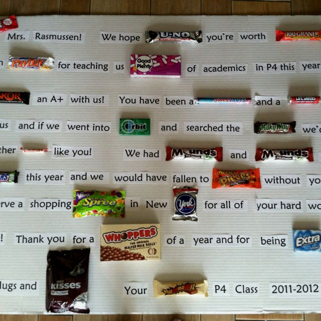 Candy bar sayings candy poster candy gift candy sayings retirement