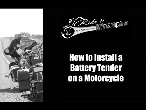 This video explains why batteries lose power in extreme cold and heat. It also explains how a battery tender can prolong the battery life during those extreme conditions and a basic overview of how to install a tender.