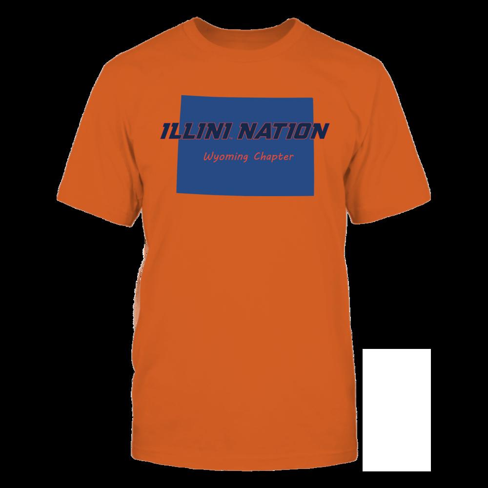 Perfec FanPrint Illinois Fighting Illini T-Shirt