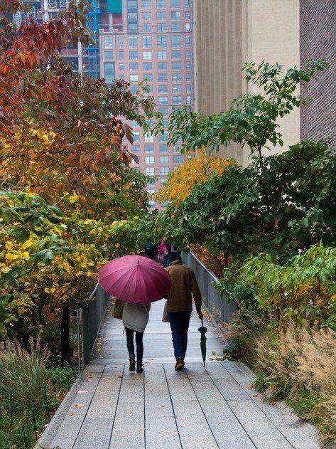 New York City - Walking the High Line #autumninnewyork