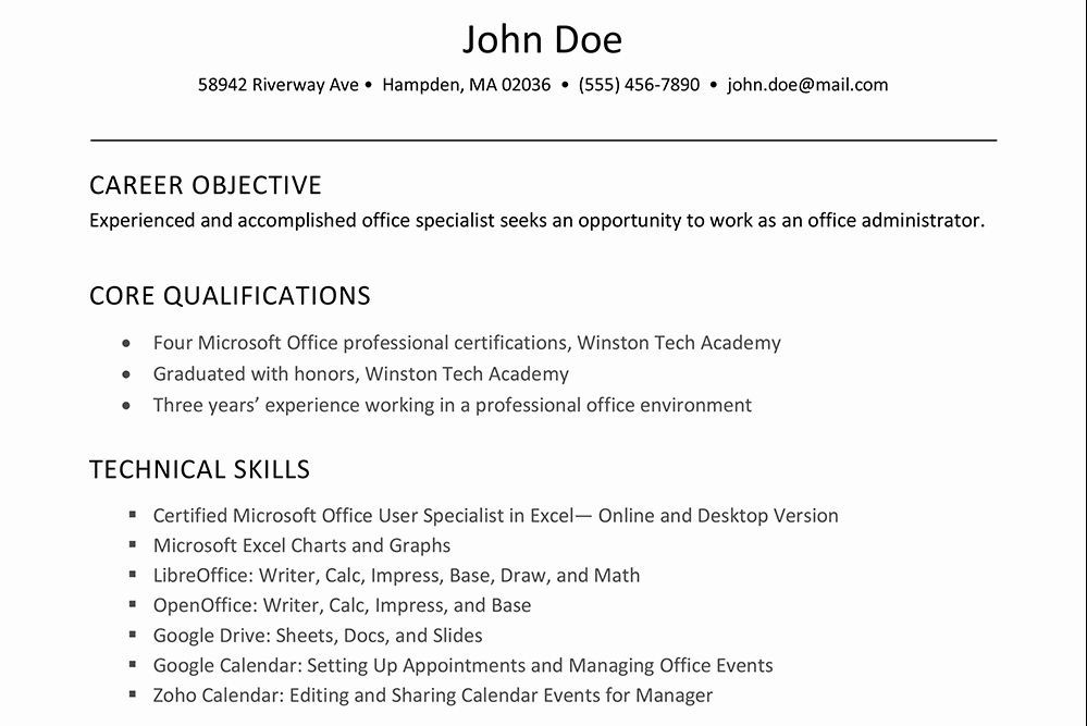 Excel Skills Resume Examples Luxury How To List Fice Software Skills On A Resume In 2020 Resume Skills Job Resume Examples Resume Examples