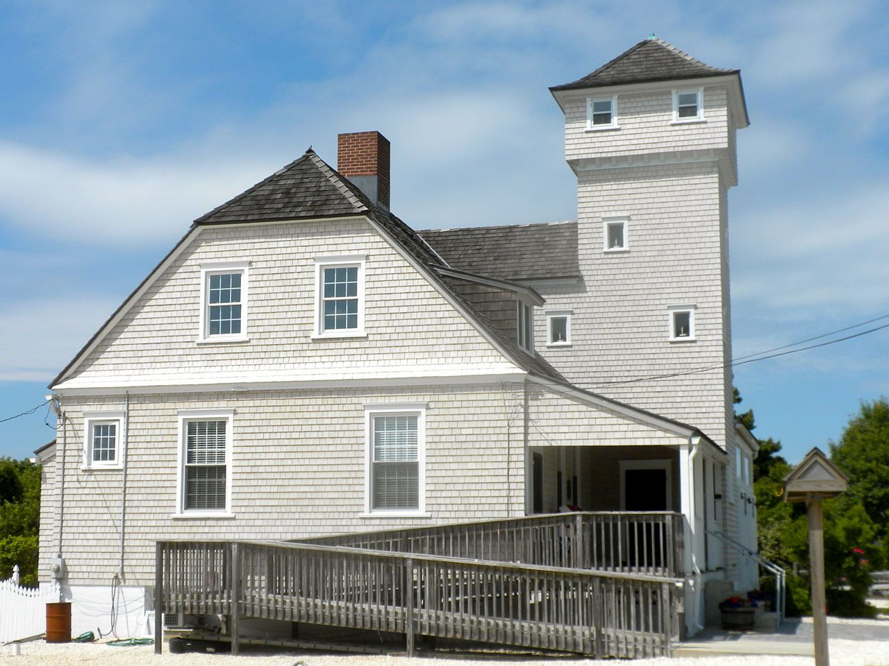 U.S. LifeSaving Station No. 35 in Cape May County, New