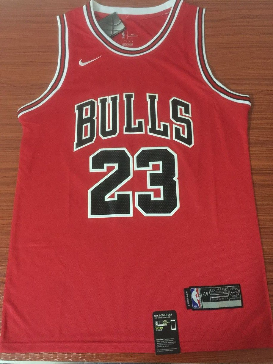 d900379a5b7 97 98 Jordan 23 Basketball Jersey Bulls Red Shirt in 2019 ...