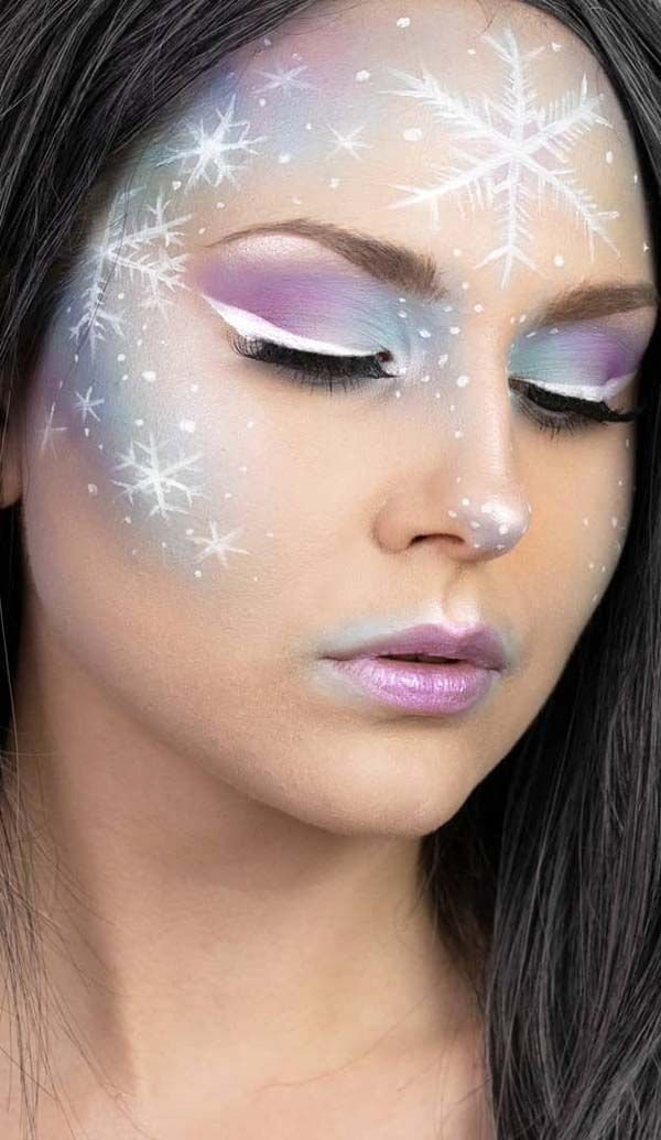 50 Christmas Makeup Looks to Try Out This Season – Trendy Pins