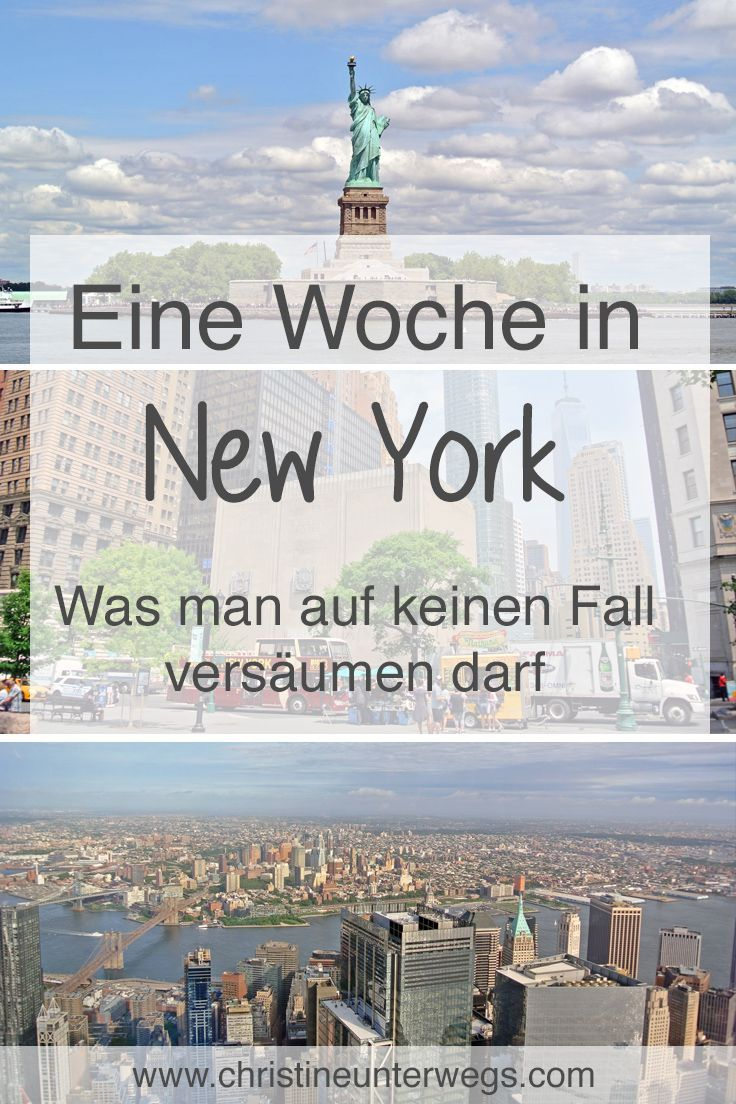 A week in New York – Part 1 – Travel report from christine on the way