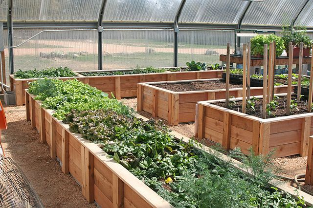 Greenhouse Raised Beds By Spinning Away, Via Flickr
