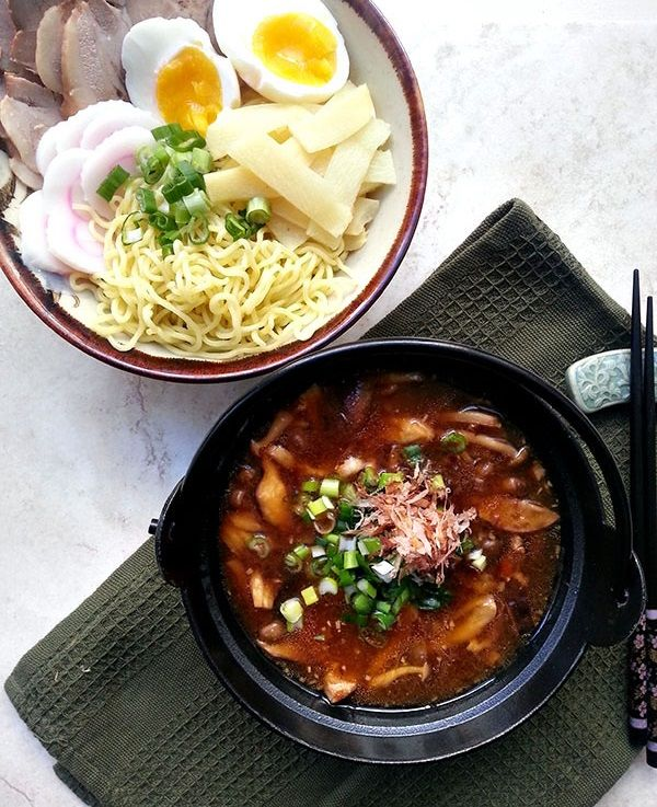 Tsuekmen, a dipping noodle version of Japanese ramen that's just as delicious