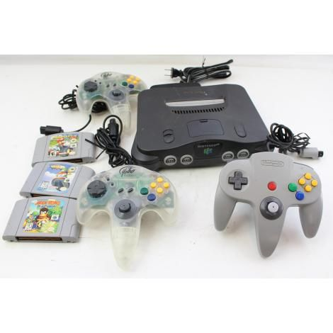 For Sale: Nintendo 64 Console Video Game System N64 bundle