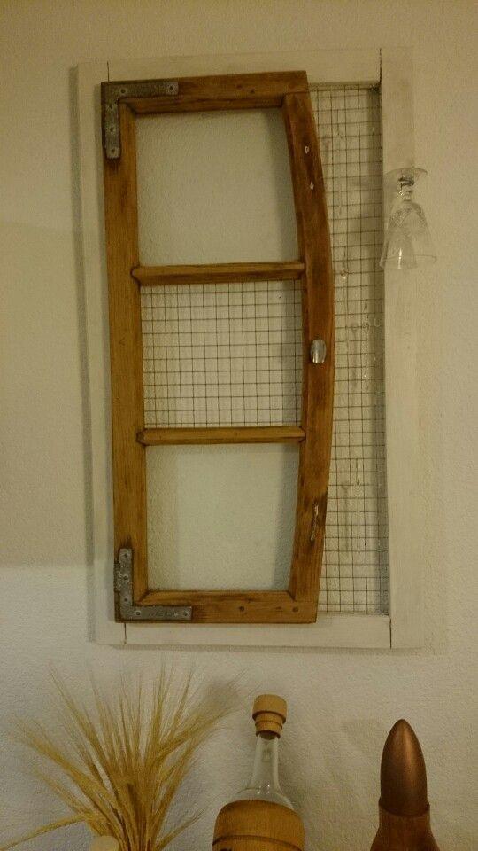 Shabby Altes Fenster Wohnzimmerdeko  Landhausstil Shabby - wohnzimmer deko shabby
