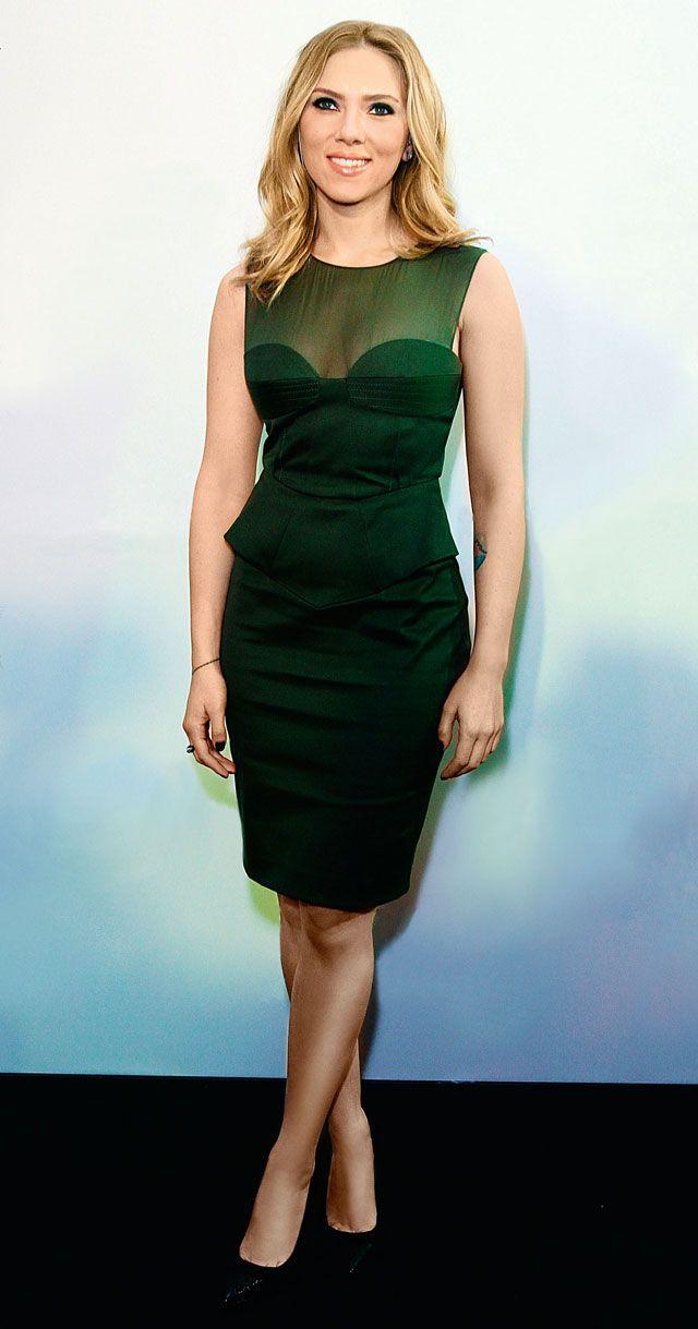 Scarlett Johansson  veste Pucci