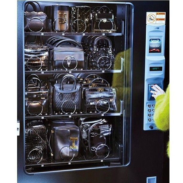 Handbag Vending Machine - Hermes etc
