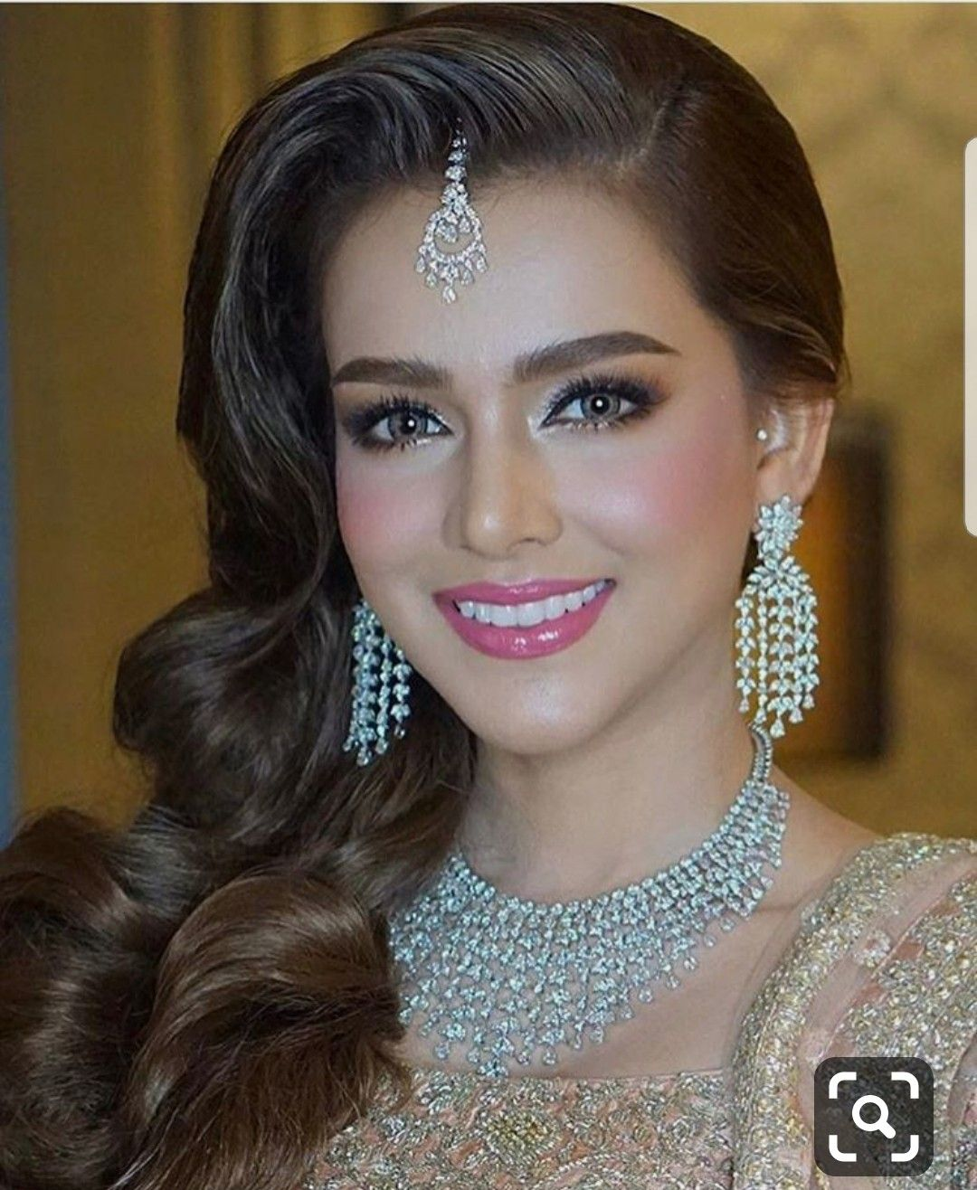 Pin by Saira on Wedding Pakistani bridal makeup