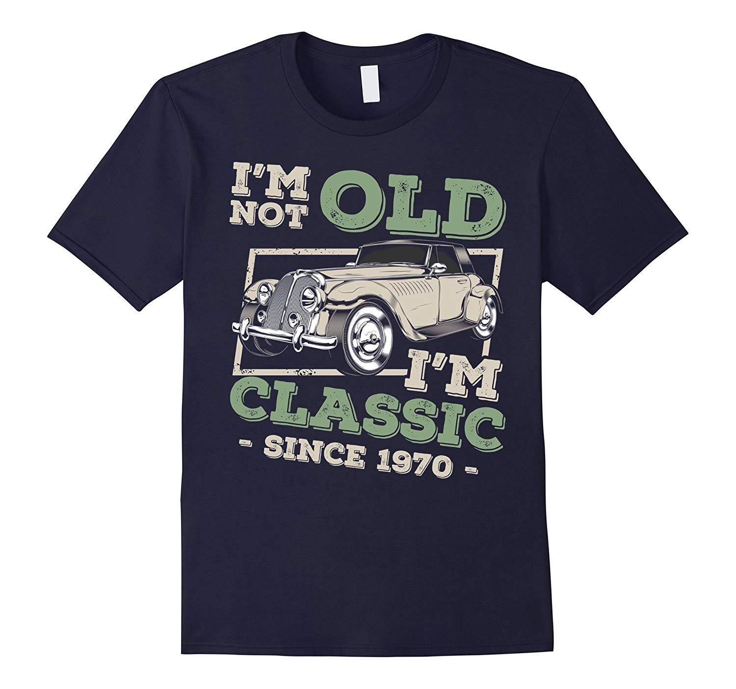 Birthday T Shirt Vintage Classic Car-Awarplus
