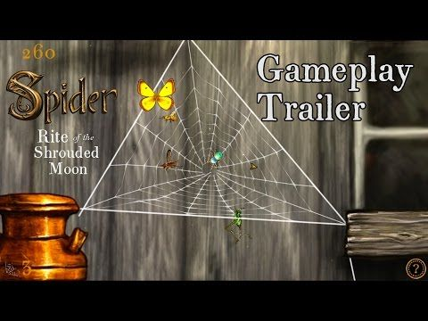 Gameplay Trailer for Spider: Rite of the Shrouded Moon - YouTube