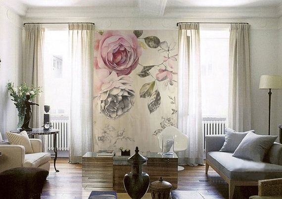 This Vintage Rose Pattern Wallpaper Is Specially Designed