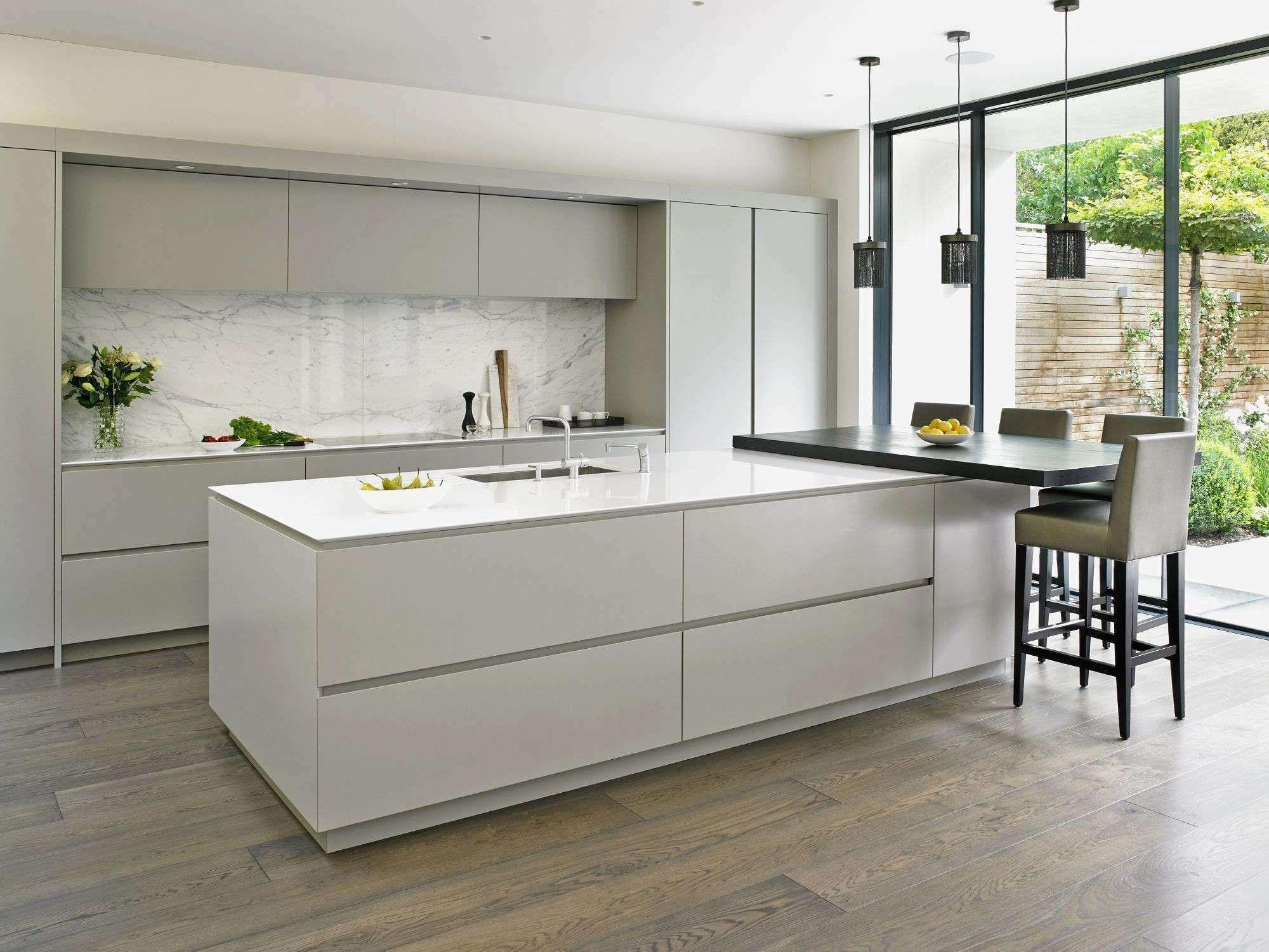 9 Full Backsplash Kitchen Photos Kitchen Layout Handleless Kitchen Contemporary Kitchen