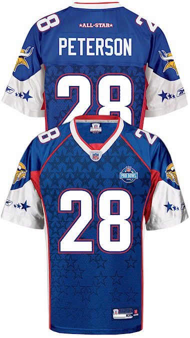 adrian peterson pro bowl jersey