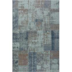 Photo of benuta Flachgewebeteppich Frencie Blau/Braun 240×340 cm – Vintage Teppich im Used-Look benuta