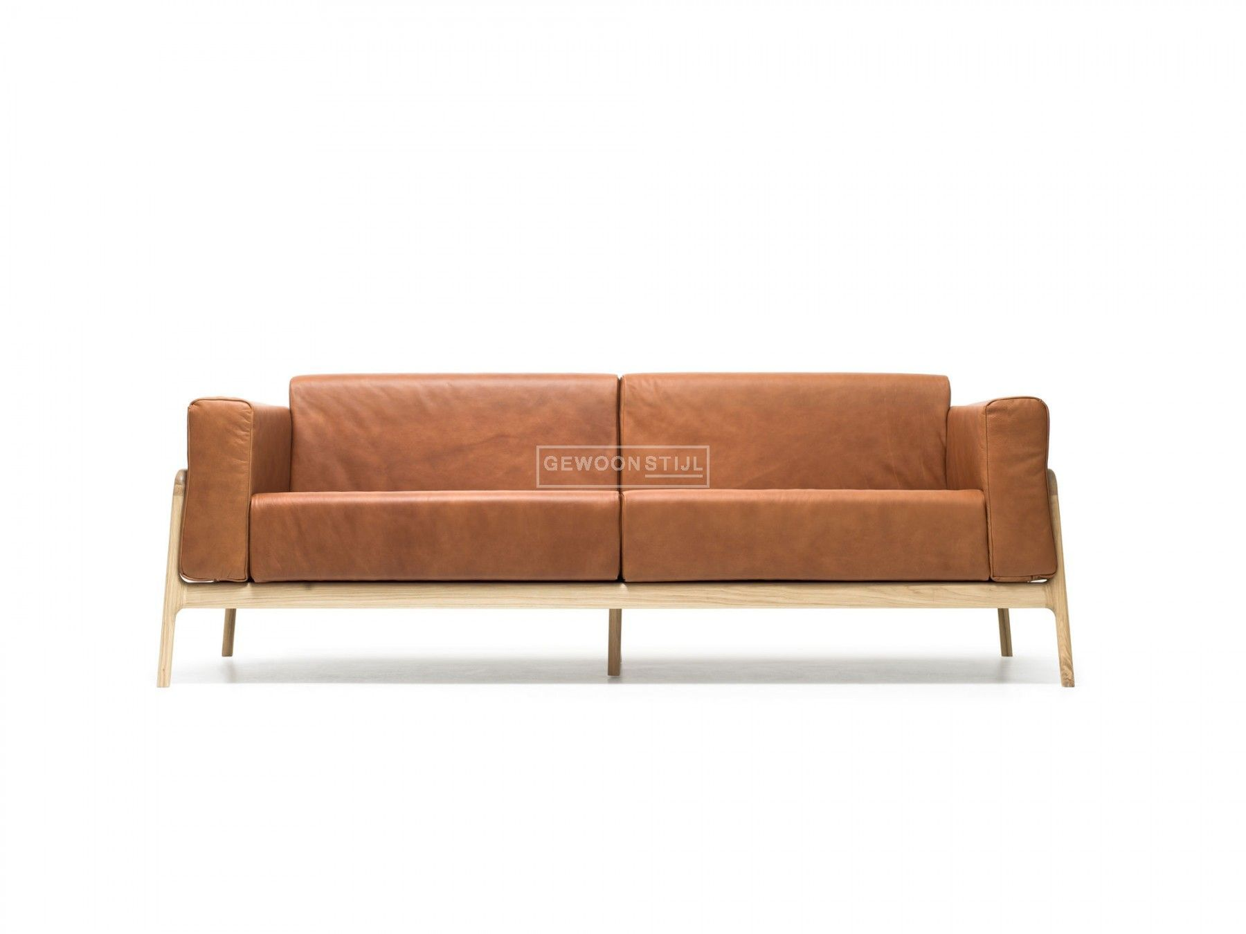 Leren Ronde Bank.Fawn Sofa Scandinavische Bank Sofa Leather Sofa Furniture