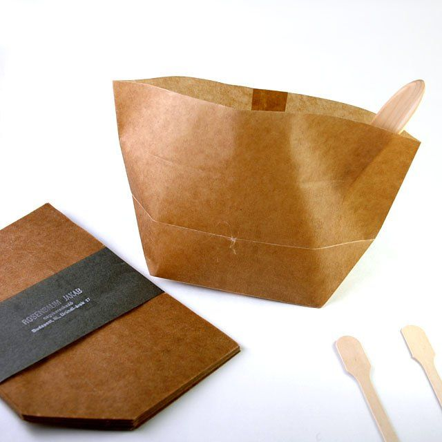 Wax Paper Bags Food Gifts Packaging Chocolate