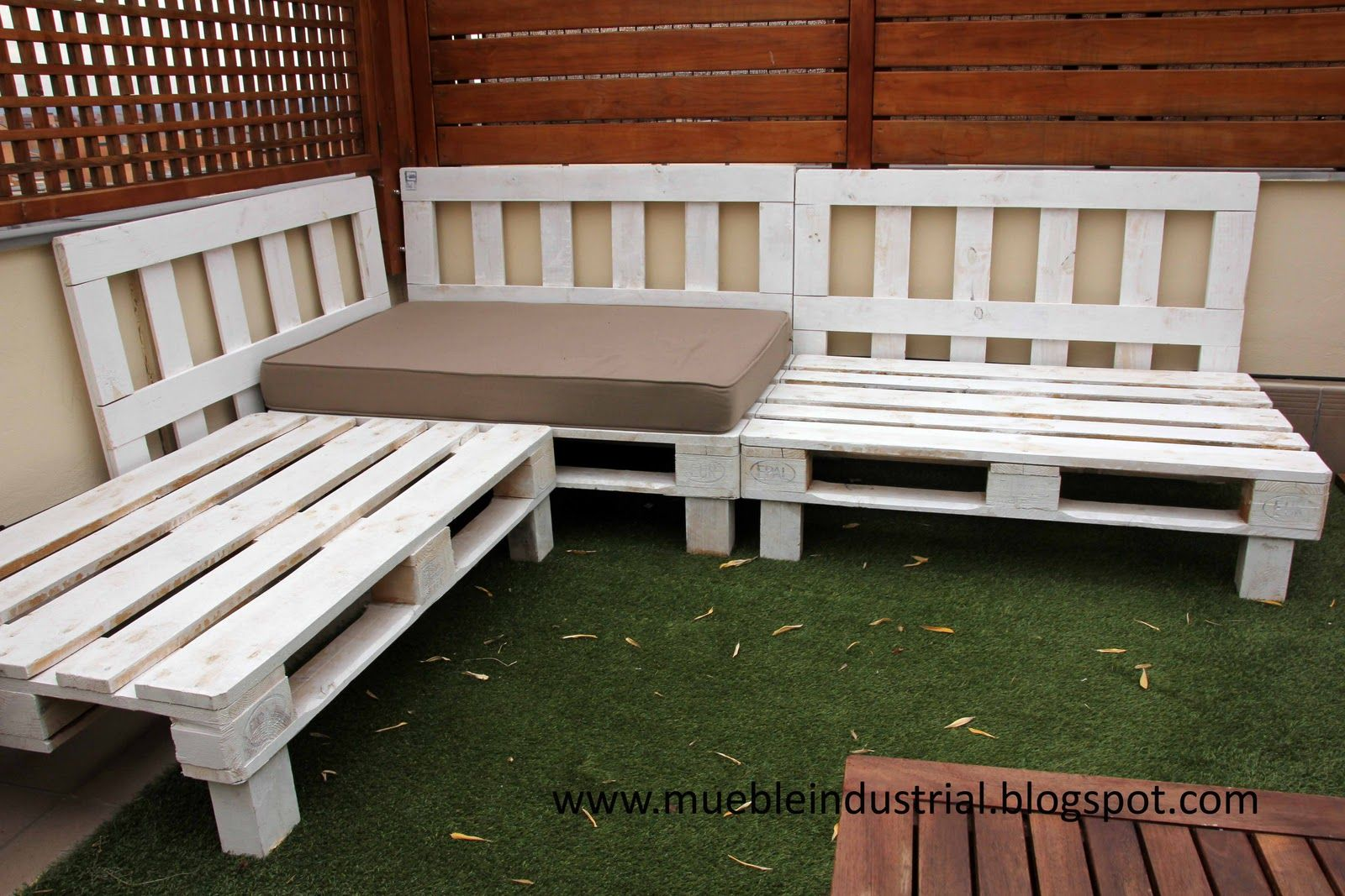 Hacer Sillones Con Palets Sofa Palet Terraza Terraza Palets Pallets Pallet Patio