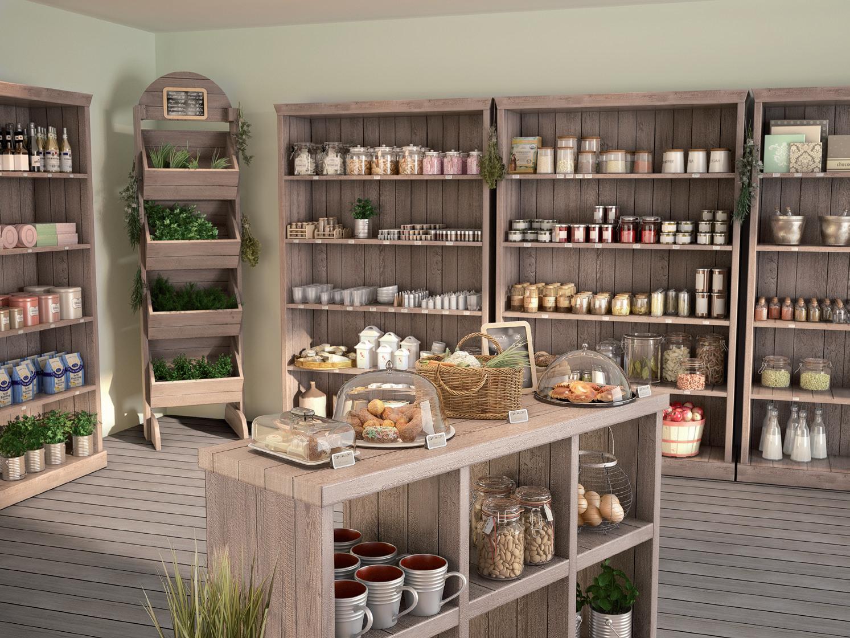 Tu tienda gourmet est en retif peque as tiendas for Muebles para vinotecas