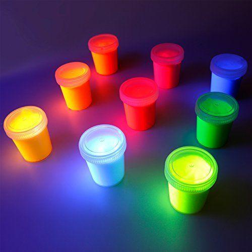 Amazon.de: Tritart Fluoreszierendes Pulver Selbstleuchtend