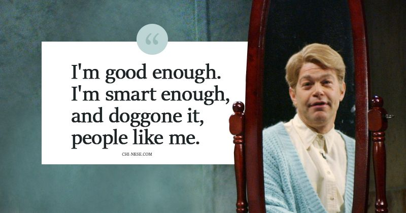 Daily affirmations with Stuart Smalley #dailyaffirmations ...