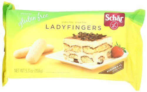 Schar Ladyfingers, 5.3-Ounce (Pack of 4)