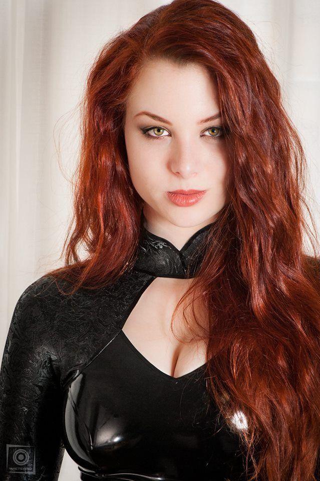 Freckled redhead fetish