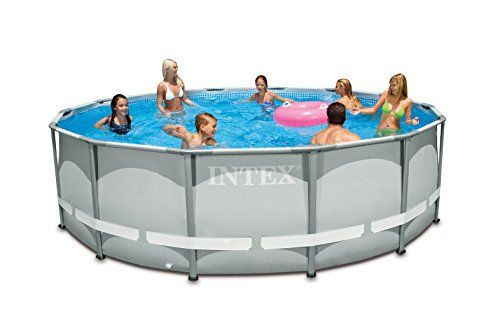 Intex 14ft X 42in Ultra Frame Pool Set with Filter Pump Ladder ...
