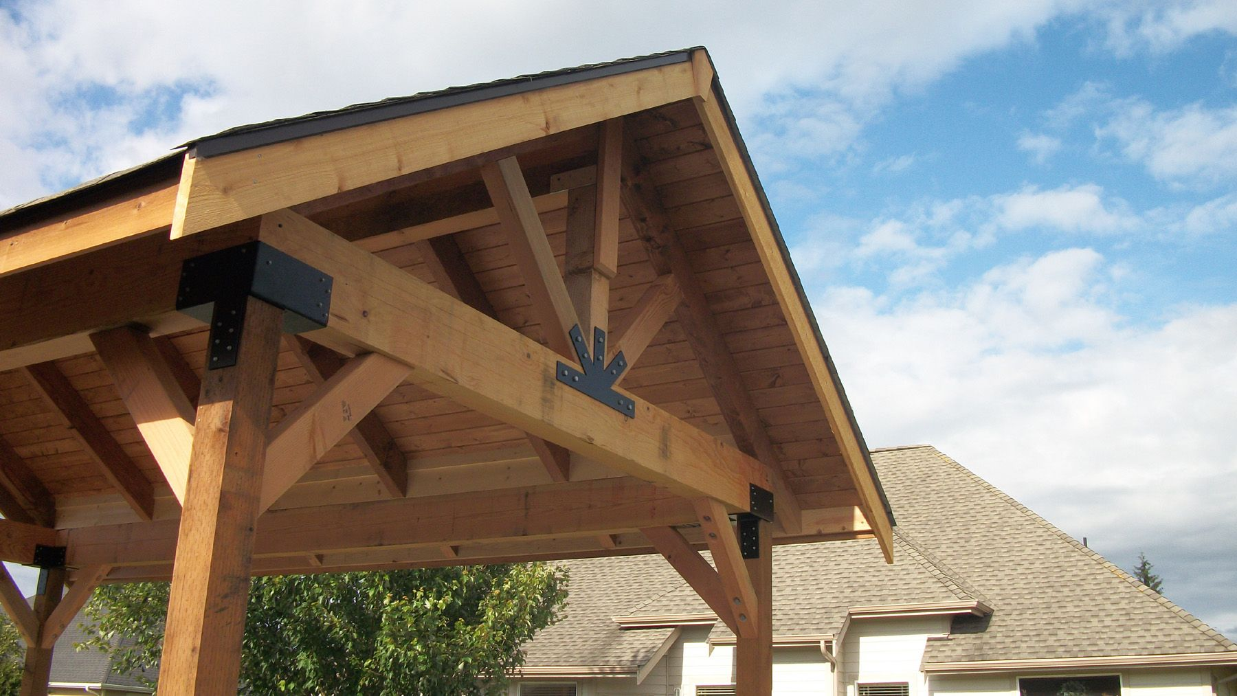 Pergola Roof Ideas   Home Decoration And Home Design Gallery .