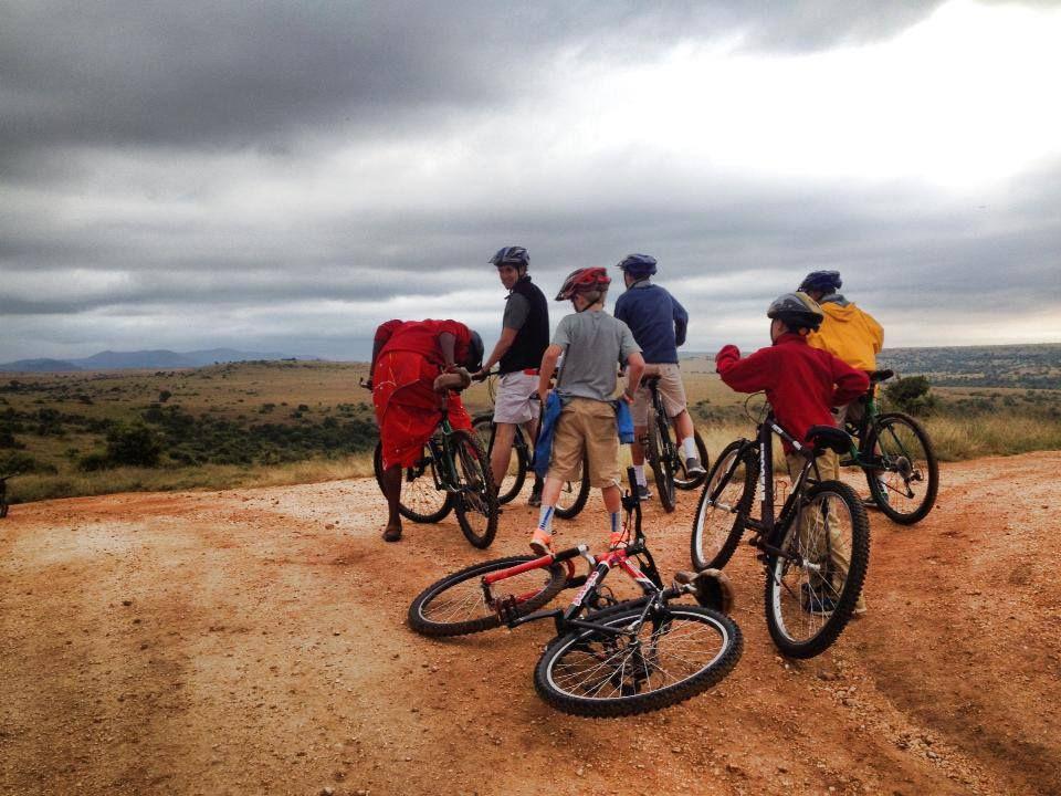 Mountain Biking The Foothills Of Mount Kenya On Borana Ranch