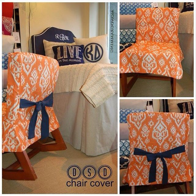 Great Chair Cover To Disguise And Give Style To Those Dorm Chairs!