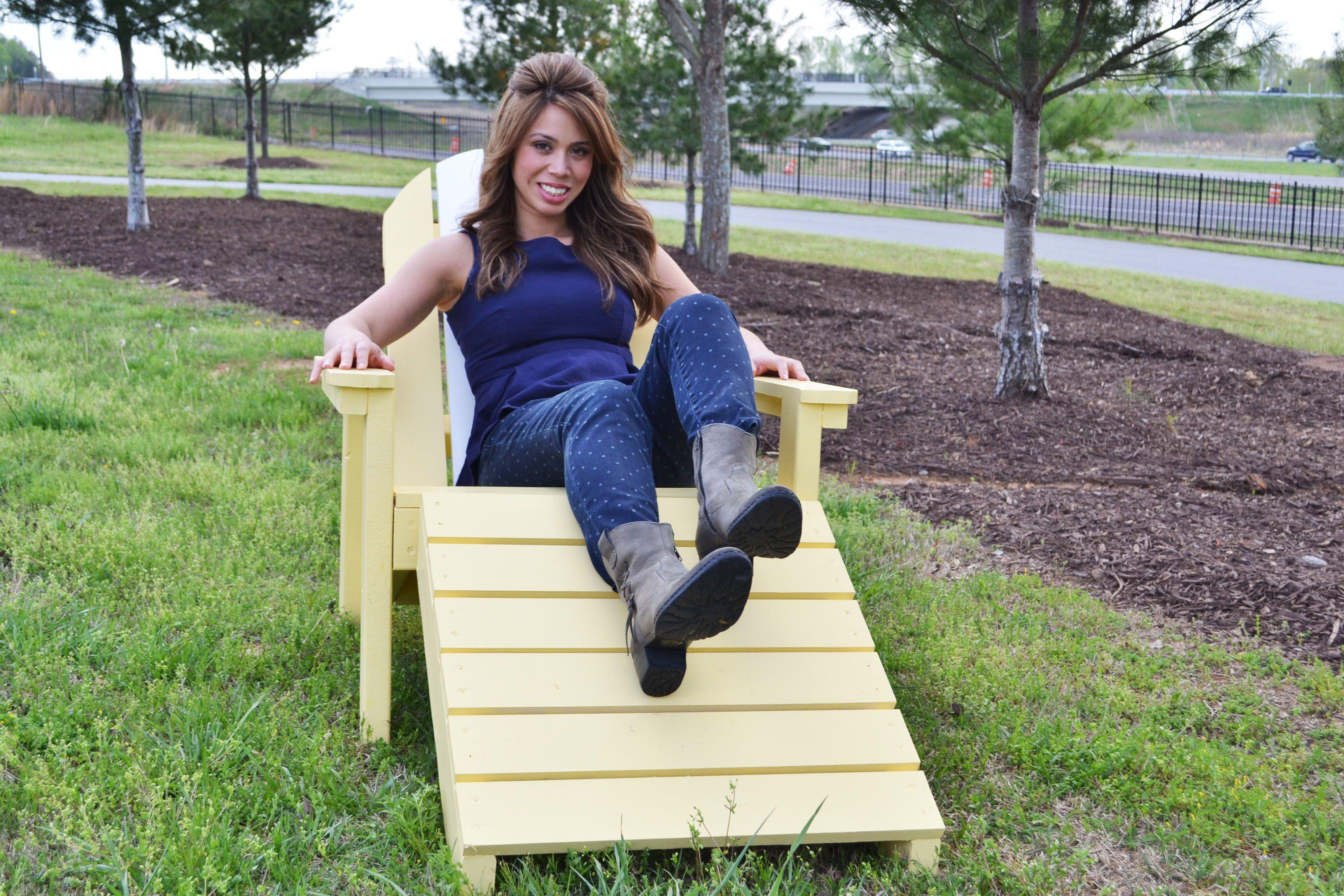 Home Depot Adirondack Footstool Adirondack chair plans