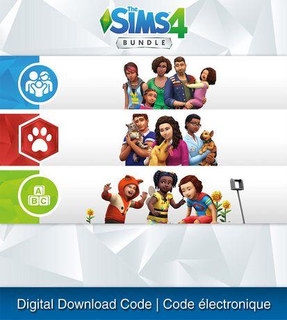 Electronic Arts Ps4 The Sims 4 Bundle Cats Dogs Parenthood Toddler Stuff Download Sims 4 Bundle Sims 4 Parenthood